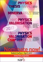 NWO Natuurkunde Prijzen: indienen voor 1 april