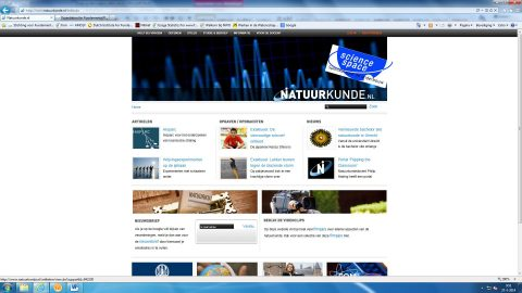 Writing for Natuurkunde.nl and Sciencespace.nl