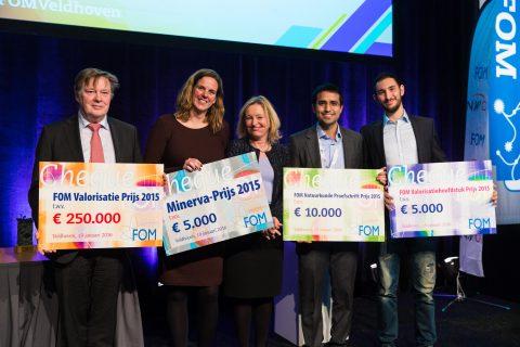 Winnaars FOM-prijzen 2015