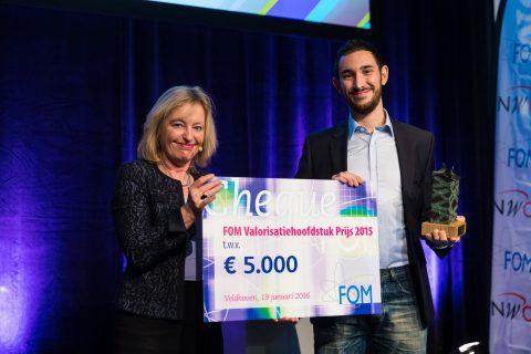 Presentation of the FOM Valorisation Chapter Prize 2015