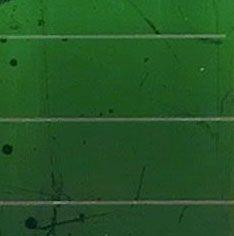 Figuur 2. Groene silicium mini zonnemodule