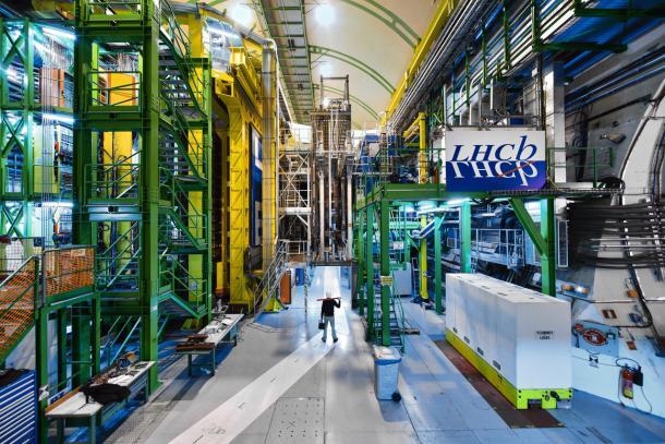 LHCb-detector op CERN